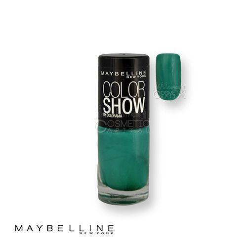 Maybelline color show nail polish 268 show me the green 7ml for Show me the color green
