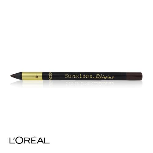 l 39 oreal super liner silky shiny eyeliner 02 brown temptation ebay. Black Bedroom Furniture Sets. Home Design Ideas
