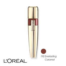 L'Oreal Colour Riche Caresse Acqua Lip Lacquer 192 Everlasting Caramel 6.3ml