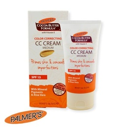Palmers CC Cream With Mineral Pigments & Aloe Vera SPF 15 Medium 30ml