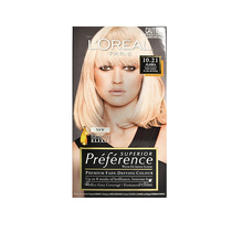 L'Oreal Superior Preference Permanent Hair Colour 10.21 Alaska Very Light Pearl Blonde