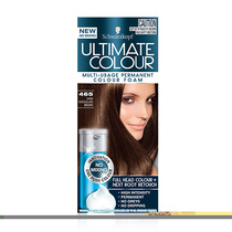 Schwarzkopf Ultimate Colour Multi Usage Permanent Hair Colour Foam 465 Dark Chocolate Brown