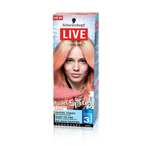 Schwarzkopf Live Colour Temporary Pastel Spray Cotton Candy 125ml