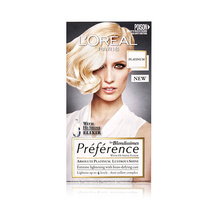 L'Oreal Preference Permanent Hair Colour Platinum