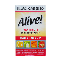 Blackmores Multivitamin Womens Alive Daily Energy 60 Tablets