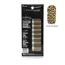 Maybelline Color Show Fashion Prints Mirror Effect Nail Stickers 30 On The Prowl