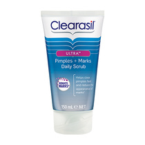 Clearasil Ultra Daily Scrub Pimples + Marks 150ml