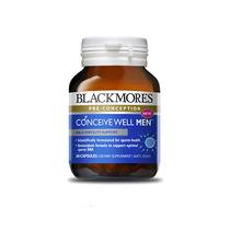 Blackmores Pre-Conception Conceive Well Male Fertility Support 28 Capsules