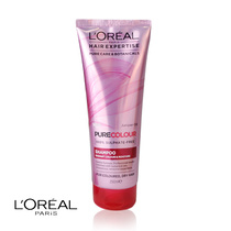 L'Oreal Hair Expertise Pure Colour 100% Sulphate Free Shampoo Radiant Colour & Moisture 250ml