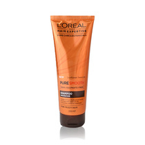 L'Oreal  Hair Expertise Pure Smooth 100% Sulphate Free Shampoo For Frizzy Hair 250ml