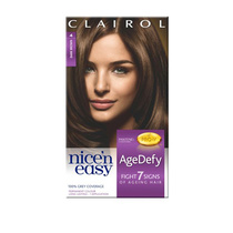 Clairol Nice N Easy Age Defy Permanent Hair Colour 3.5 Darkest Brown