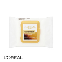 L'Oreal Age Perfect Cleansing Wipes Mature Skin 25pk