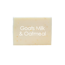 Natural Organic Soaps Goats Milk and Oatmeal 100g
