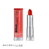 Maybelline Lipstick Bold Matte MAT 4 Light Red