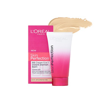 L'Oreal Skin Perfection BB Cream 5 in 1 Instant Blemish Balm Light SPF 15 50ml