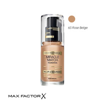 Max Factor Miracle Match Foundation 65 Rose Beige 30ml