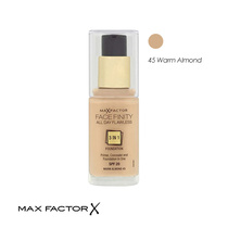 Max Factor Facefinity All Day Flawless 3 in 1 Foundation 45 Warm Almond 30ml
