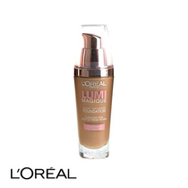 L'Oreal Lumi Magique Light Infusing Foundation SPF18 W6 Gold Camel 30ml