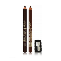 L'Oreal Brow Stylist Duet Natural Brows 335 Medium Brown