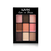 NYX 9 Color Shadow Palette Love In Paris Let Them Eat Cake LIP08