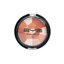 BYS Blush & Bronze Compact Mosaic Pattern 01 Light Glow 8g