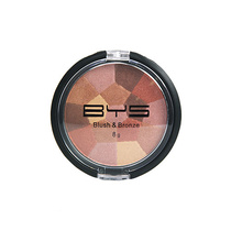 BYS Blush & Bronze Compact Mosaic Pattern 02 High Shine 8g