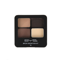 BYS Brow Definition Kit 3 Coloured Powder With Wax 01 Wow Brows