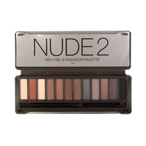 BYS Nude 2 Eyeshadow Palette 12 Colours Naturals 12g