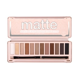 BYS Matte Eyeshadow Palette 12 Colours Natural 12g