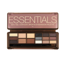 BYS Essentials Contour, Brow & Eyeshadow Palette 15g