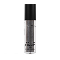 BYS Roll On Shimmer For Face And Body Electric Silver 2.8g