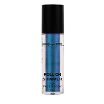 BYS Roll On Shimmer For Face And Body Atlantic Blue 2.8g