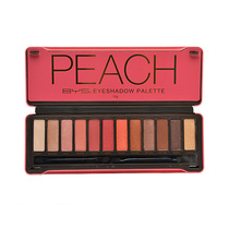 BYS Peach Eyeshadow Palette 12 Colours 12g