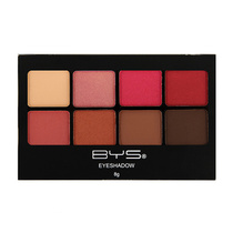 BYS Eyeshadow 8 Colour Palette Think Pink