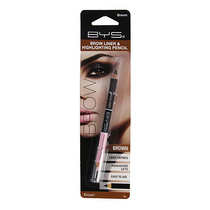 BYS Brow Liner & Highlighting Pencil Brown