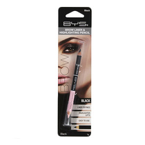 BYS Brow Liner & Highlighting Pencil Black