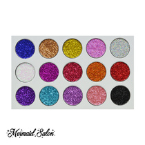 Mermaid Salon Sparkle Factory Deluxe - Pressed Glitter Palette
