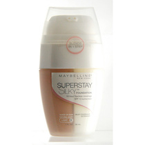 Maybelline SuperStay Silky Foundation Pump Nat Ivory 30ml