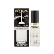L'Oreal La Manicure 2 In 1 Protect Base & Top Coat Hang Sell 5ml