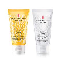 Elizabeth Arden Eight Hour Cream Sun Defense For Face Spf50 50ml & Intensive Daily Moisturiser For Face Spf15 50ml