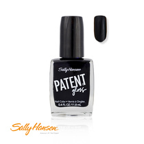Sally Hansen Patent Gloss Nail Color 710 Vinyl (Black) 11.8ml