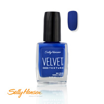 Sally Hansen Velvet Texture Nail Color 650 Regal (Blue) 11.8ml