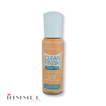 Rimmel Clean Finish Matte Foundation 220 Soft Ivory 30ml