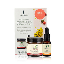 Sukin Rose Hip Day Cream With Free 15ml Facial Treatment Oil