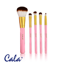 Cala Pink Couture Deluxe Make-Up Brush Set 5pcs