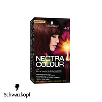 Schwarzkopf Nectra Colour Permanent Hair Colour 4-68 Chocolate Brown