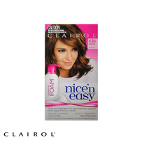 Clairol Nice N Easy Permanent Hair Colour Foam 6.5G Lightest Golden Brown