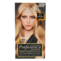 L'Oreal Superior Preference Permanent Hair Colour 8.1 Copenhagen Ash Blonde