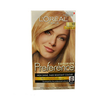 L'Oreal Superior Preference High Shine Permanent Hair Colour 10 Scandinavia Very Light Blonde