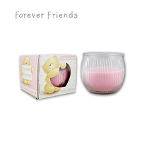 Forever Friends Hearts & Rosebuds Scented Candle 85g